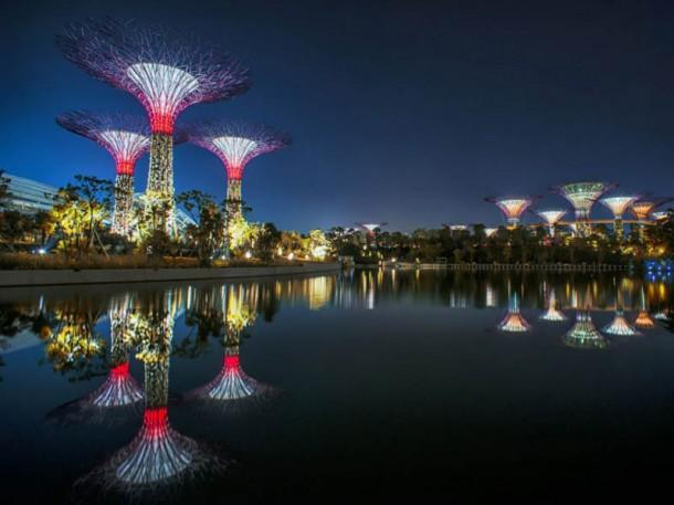 Art Garden - Super trees in Singapore