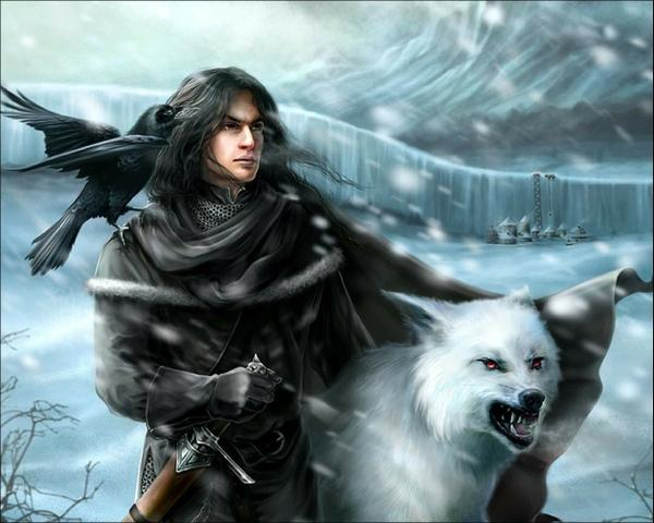 fantasy art,Night Watch fantasy art night watch game of thrones tv series jon snow ghost wolves 1280x1024 wallpaper – TV Series Wallpaper – Free Desktop Wallpaper
