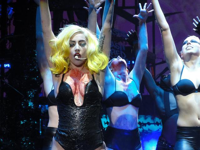 Lady Gaga - The Monster Ball Tour - Burswood Dome Perth | Flickr - Photo Sharing!