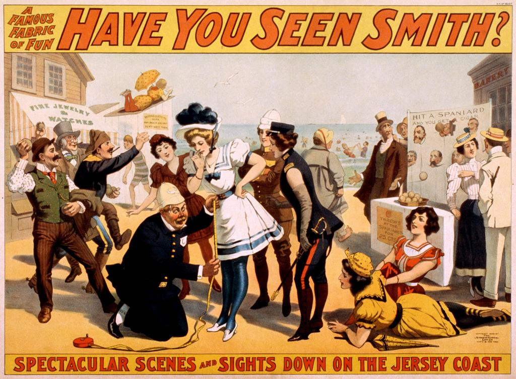 Have you seen Smith? Broadway poster, ca. 1898 | Flickr - Photo Sharing!