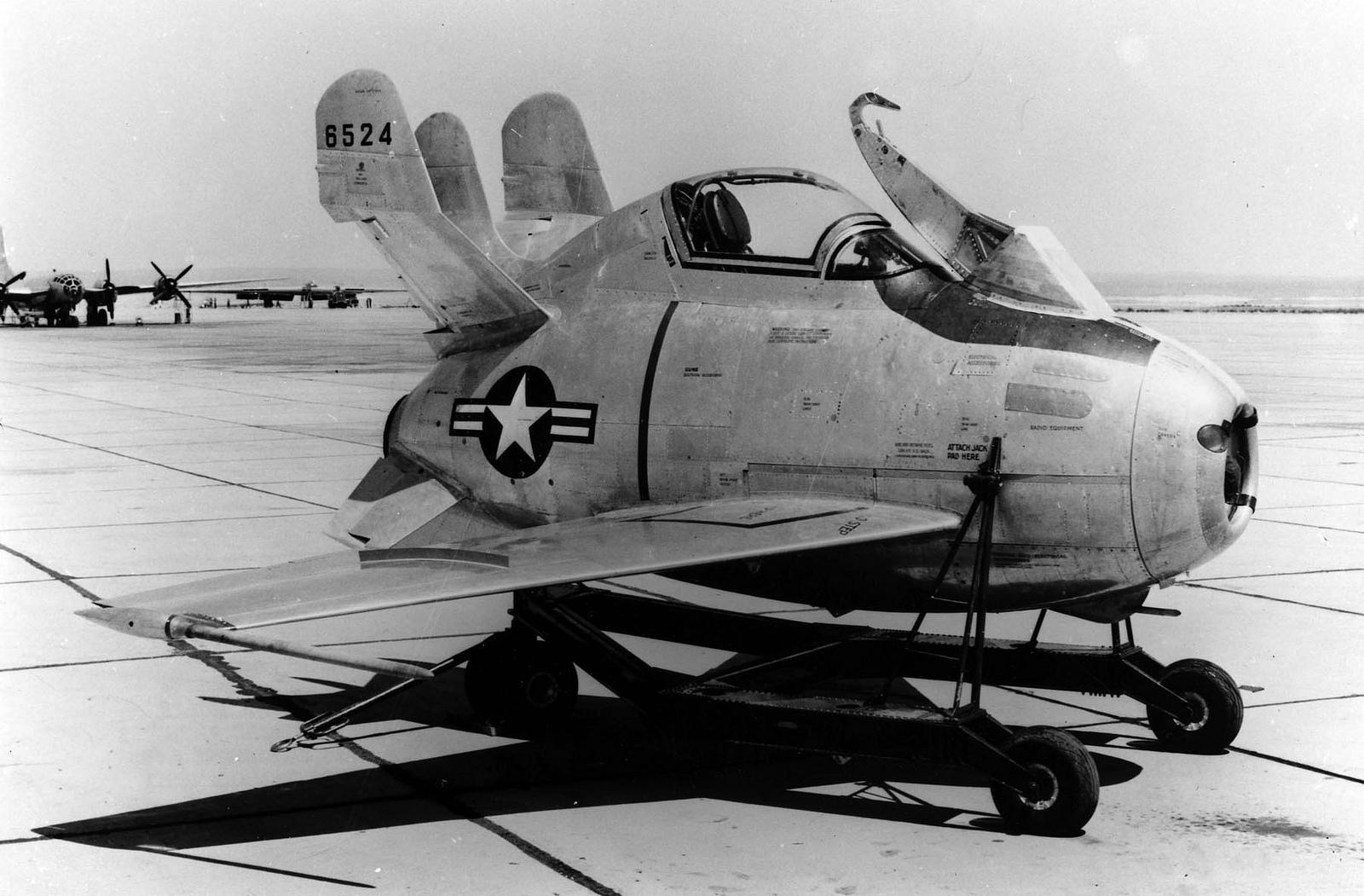 McDonnell XF-85 Goblin | Flickr - Photo Sharing!