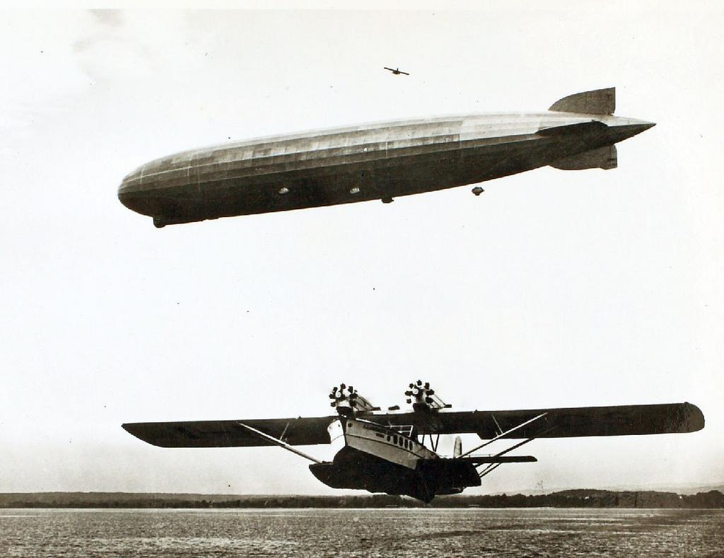 Graf Zeppelin and a Dornier Do R Superwal | Flickr - Photo Sharing!