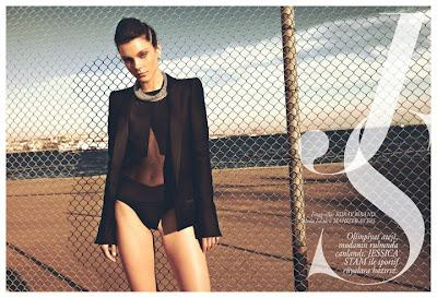 Jessica Stam by Koray Birand | Fashion Photography Blog