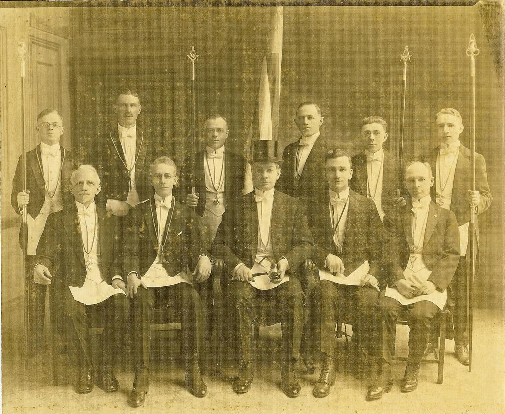 My Great Great Grandfather as JW in Edgewater Lodge No. 901 - Chicago, Illinois 1920 | Flickr - Photo Sharing!