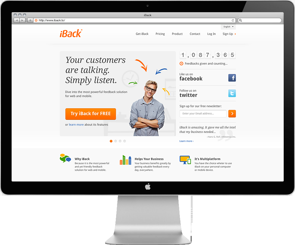 THE MAR2™ — iBack website