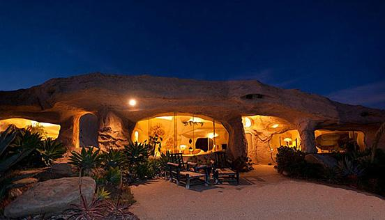 The $3.5 Million Flintstones Home in Malibu | inspirationfeed.com