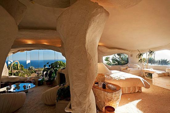 The $3.5 Million Flintstones Home in Malibu | inspirationfeed.com