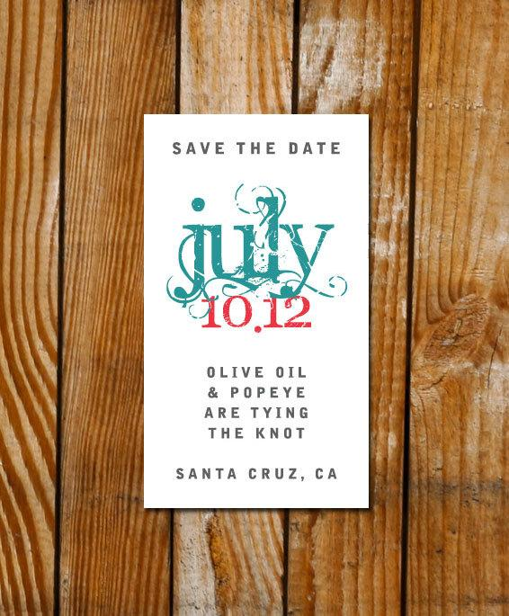 Tying the Knot Save the Date Magnets or by differentdesigns10
