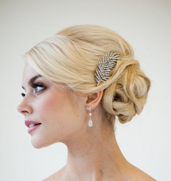 Brooch Style Hair - StyleCraze