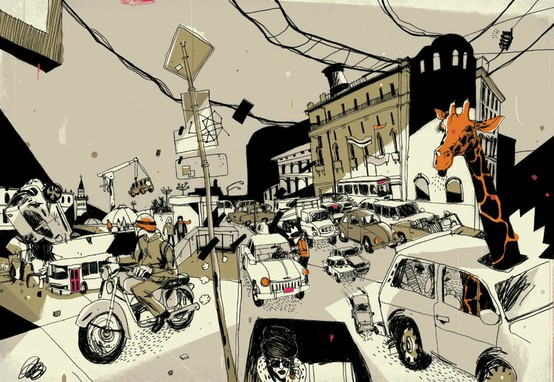 art / Josh Cochran illustrations