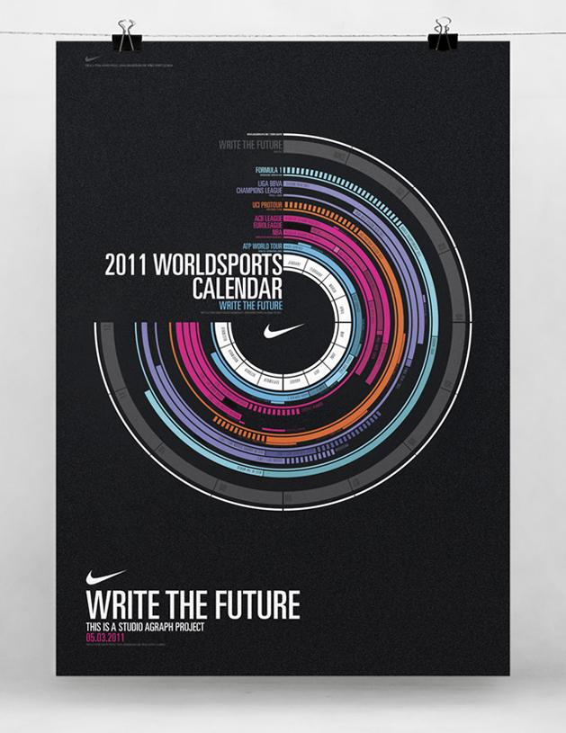 Write the Future. Calendario 2011. | Estudio AGraph Blog