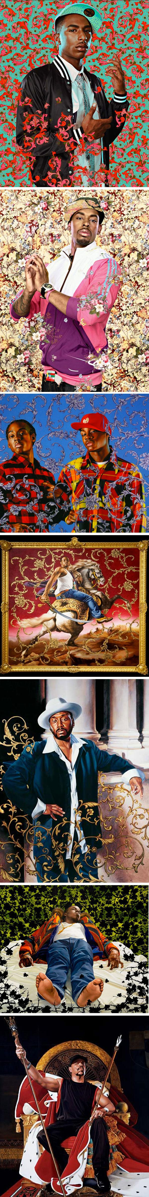 kehinde wiley | MRG LAB BLOG creative experience