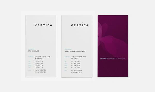 Vertica Corporate Identity sur le réseau