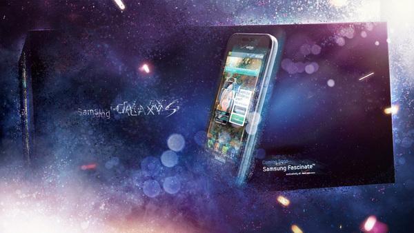 Samsung Galaxy sur le réseau