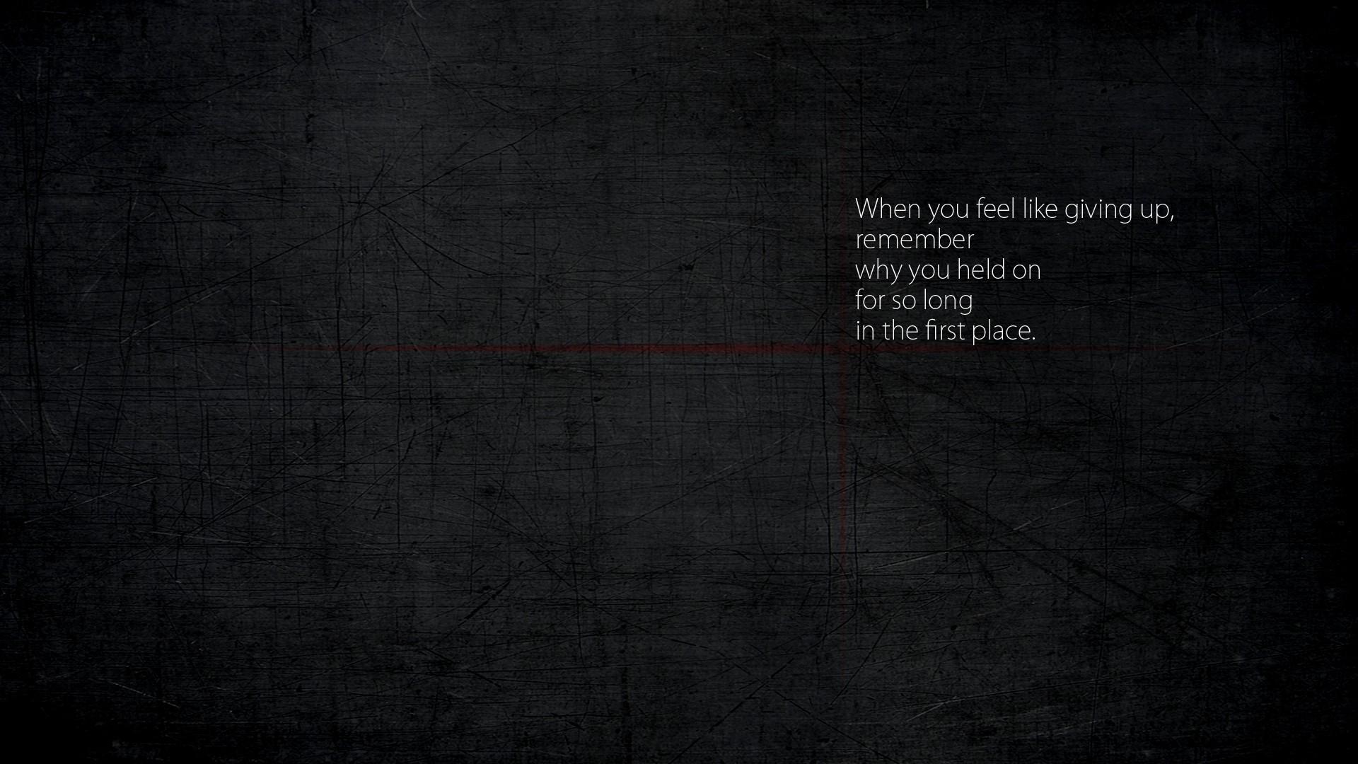 minimalistic quotes - Wallpaper (#1918406) / Wallbase.cc