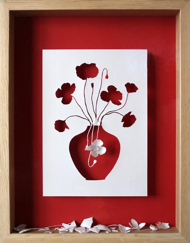 Paper Art - Art Cocktail