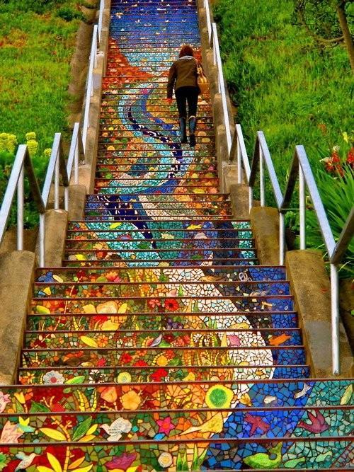 Travel / San Francisco's Secret Mosaic Staircase