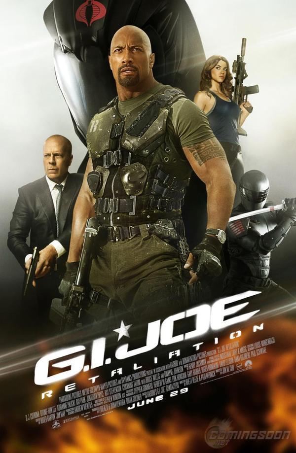 G.I. JOE RETALIATION - COMING IN 2013