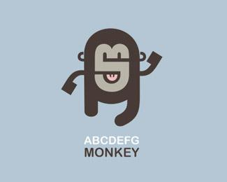 ABCDEFG Monkey |  BrandCrowd