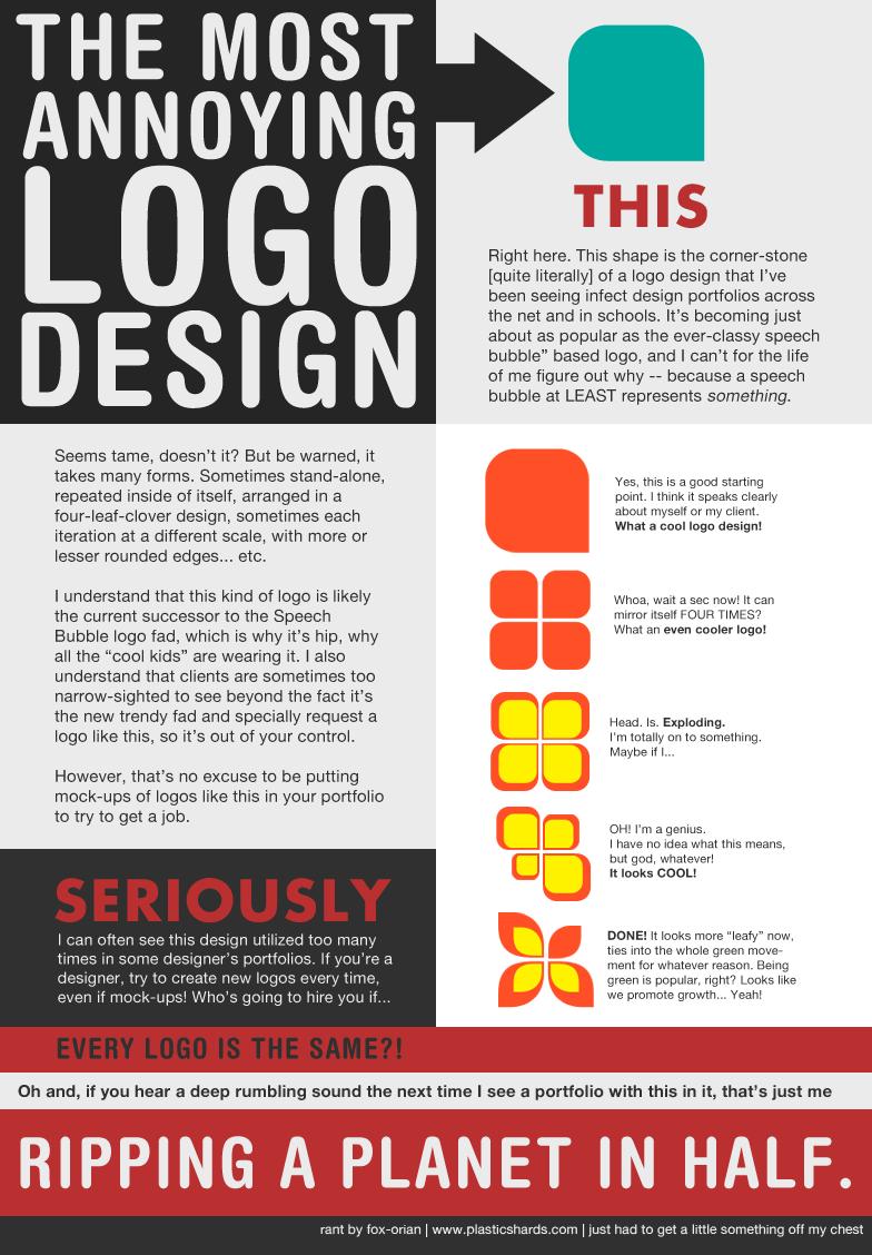 Annoying Logo Design by `fox-orian