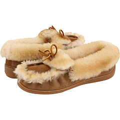 Minnetonka The Ultimate Sheepskin Slipper Tan - Zappos.com Free Shipping BOTH Ways