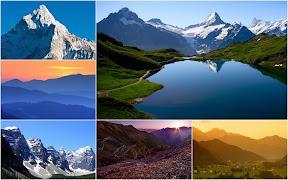 Mountains Album - Toevoegen aan uw startpagina