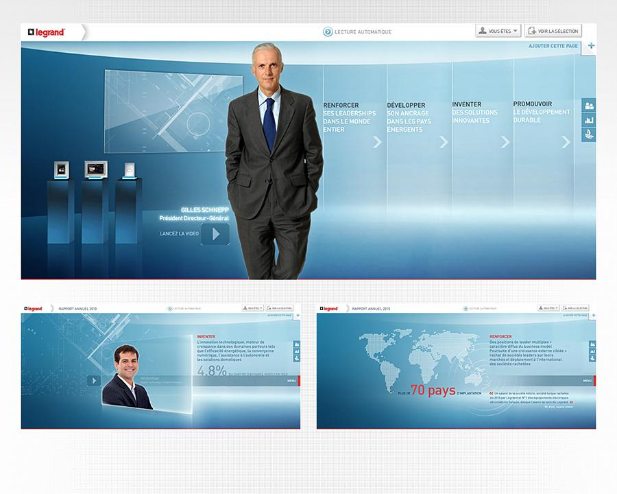Direction Artistique Web pour Legrand via Publicis consultant via creasenso en Freelance > Creasenso