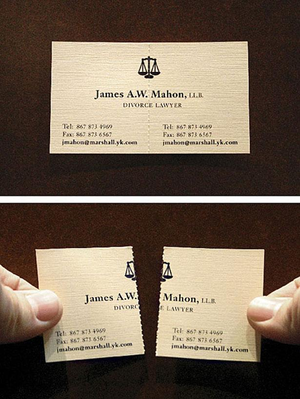 100 (Really) Creative Business Cards | Webdesigner Depot