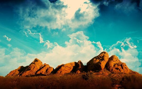 clouds,landscapes clouds landscapes desert 1680x1050 wallpaper – Desert Wallpapers – Free Desktop Wallpapers