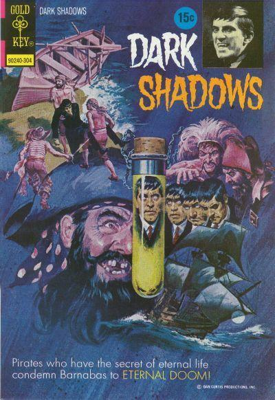 Dark Shadows #19 - Island of Eternal Life Pt. 1 & Pt. 2 (comic book issue) - Comic Vine