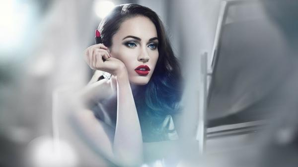 women,brunettes brunettes women black red mirror megan fox blue eyes actress lips celebrity advertisement lipstick r – Advertisement Wallpapers – Free Desktop Wallpapers
