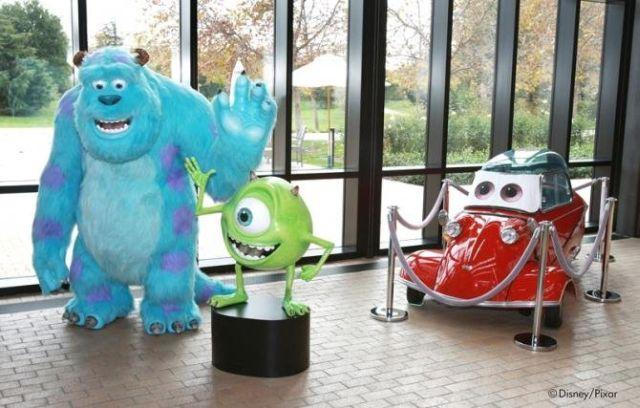 Pixar's Office Interiors