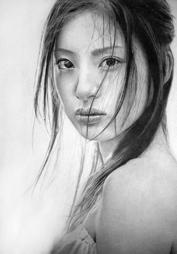 Breathtaking Pencil Portraits by Ken Lee | Who Designed It?