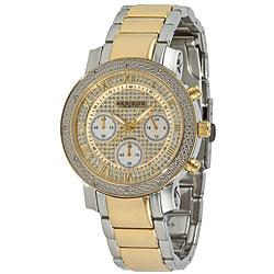 Akribos XXIV Women's Diamond Quartz Chronograph Round Bracelet Watch | Overstock.com