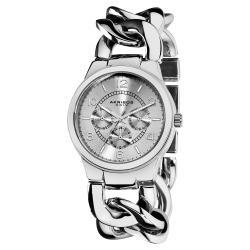 Akribos XXIV Women's Twist Chain Quartz Multifunction Watch | Overstock.com