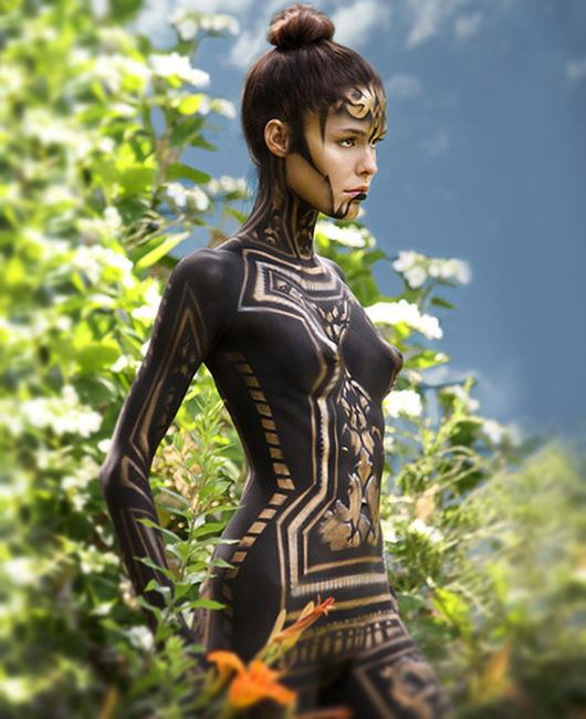 Awesome Body Painting Pictures to Break Your Inspirational Funk | Crazy Pixels