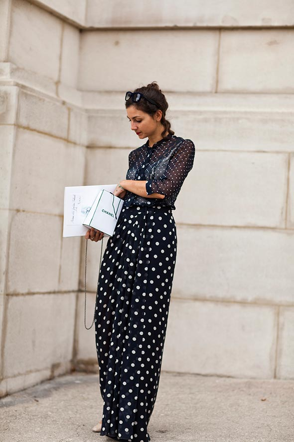 On the Street….More Dots, Paris « The Sartorialist