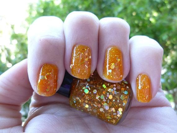 Gettin Jiggy jelly glitter nail polish - StyleCraze