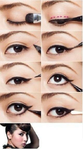 beauty eye line makeup - StyleCraze