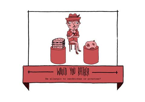 Would You Rather: an illustrated blog by Woody Woods — Lost At E Minor: For creative people