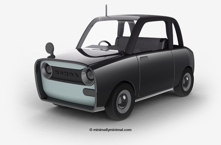 How I learned SolidWorks. (Honda N2) - journal - minimally minimal
