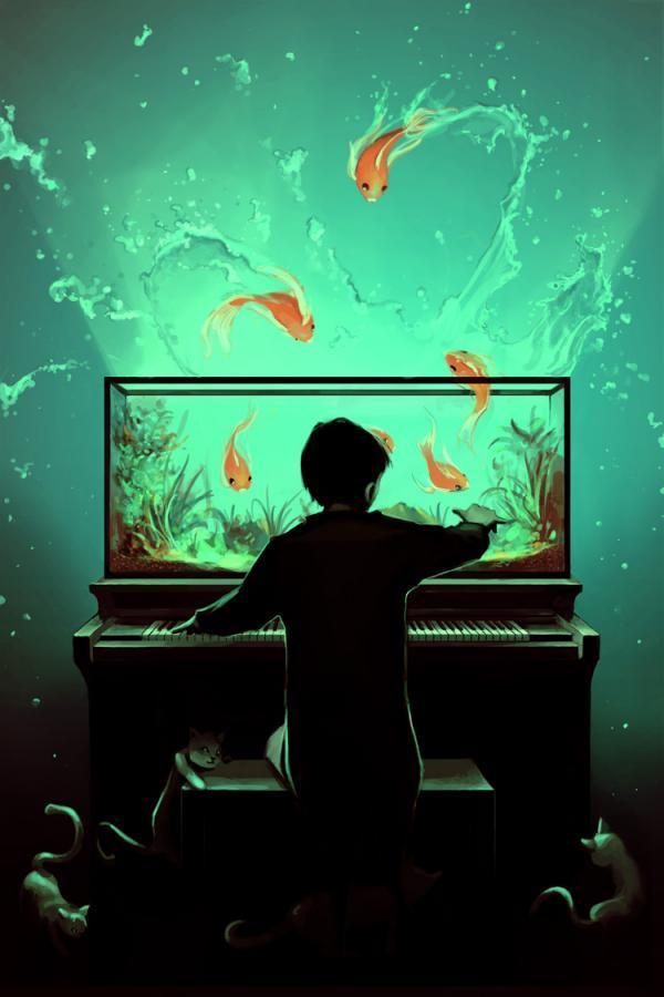 Amazing Digital Paintings by Cyril Rolando | Cuded