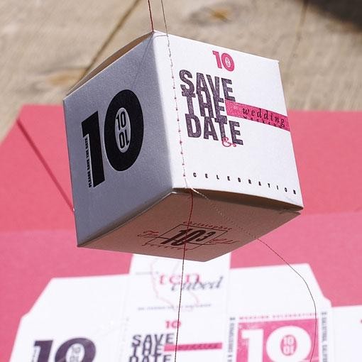 Designspiration — design work life » Save the Date by Smokeproof Press