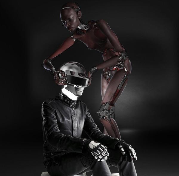 Daft Punk for Lemon Magazine on The Digital Age Served