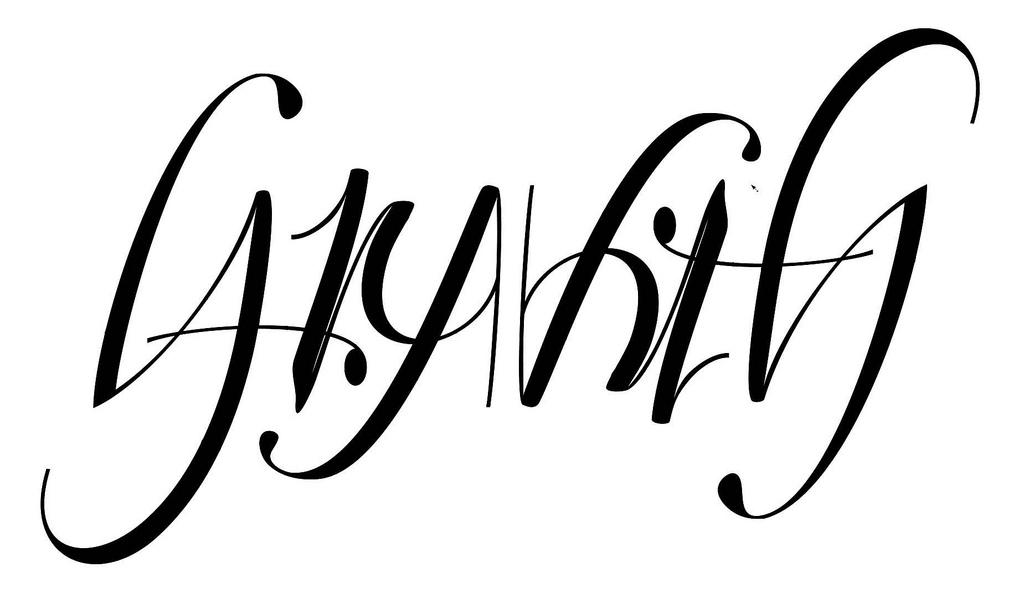 Gravity Ambigram 4 | Flickr - Photo Sharing!