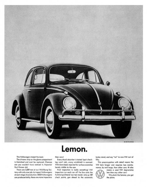 Olybop.info - Actualités Webdesign, Culture et Graphisme - » 50 vieilles publicités Volkswagen (Combi, Coccinelle…)
