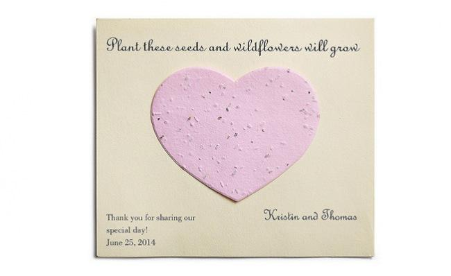 The Knot Shop Pick of the Week: Plantable Card Favors | TheKnot Blog