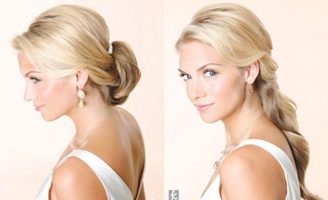 Wedding Hairstyle We Love: Half-Up | TheKnot Blog