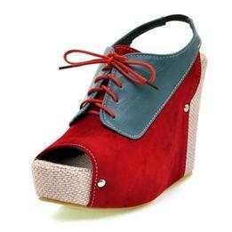 Zipper Design Water Table Fish Mouth Leather Womens Pumps