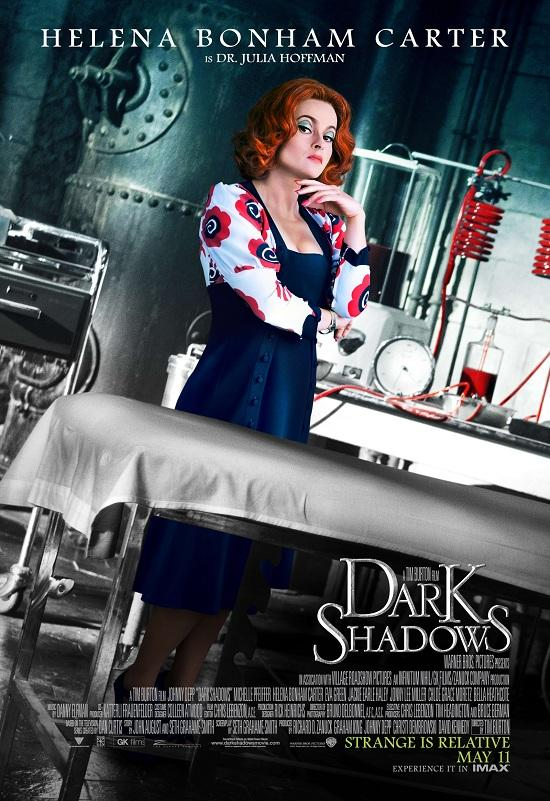 Nine New Character Banners For Tim Burton's 'Dark Shadows' - Helena Bonham Carter - Zimbio